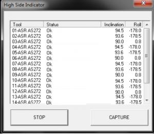 HSI monitor capture window